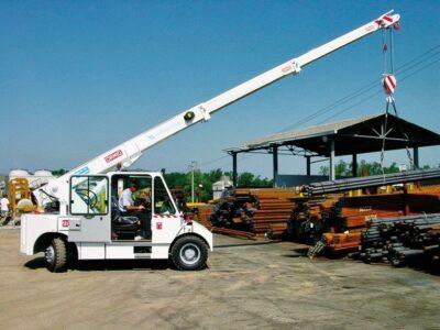 Pick&Carry kraan Ormig - diesel 10 TM