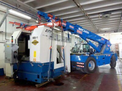 Pick&Carry kraan Ormig - diesel 20/25 TM