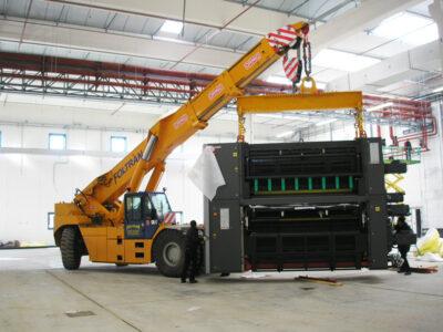 pick&carry kraan ormig - diesel 75tm