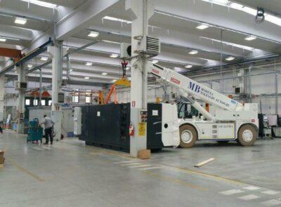 Pick & Carry Ormig Electric Cranes 35 tmE/l